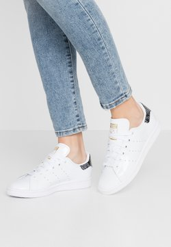 adidas Originals - STAN SMITH - Joggesko - footwear white/clear black/gold metallic
