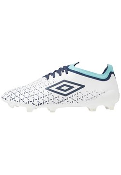 Umbro - VELOCITA V PRO FG - Moulded stud football boots - white/medieval blue/blue radiance
