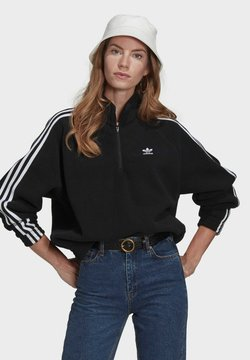adidas Originals - FLEECE HZ - Bluza z polaru - black