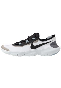 Nike Performance - FREE RN 5.0 2020 - Minimalist running shoes - white/black/obsidian mist