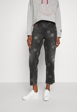 Desigual - MERY MICKEY - Jeans Relaxed Fit - denim black