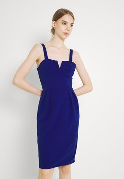 WAL G. - IMAANI STRAPPY MIDI DRESS - Cocktailklänning - electric blue