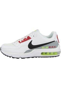 Nike Sportswear - AIR MAX LTD  - Sneaker low - white-black-light smoke grey-barely volt-university red