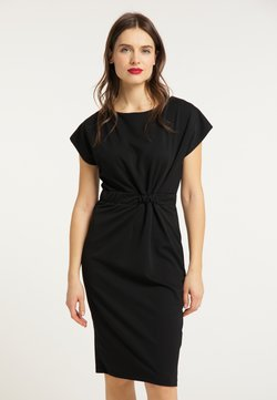 usha - KLEID - Vestido de tubo - schwarz