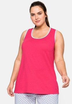 Sheego - Nachtwäsche Shirt - flamingo
