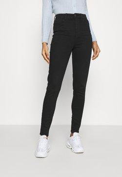 American Eagle - CURVY HIGHEST RISE JEGGING - Jeans slim fit - black