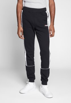 Fila - TEVIN - Jogginghose - black/bright white