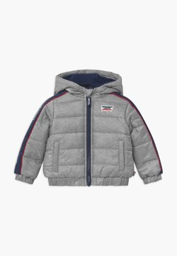 Levi's® - COLOR BLOCK PUFFER - Chaqueta de invierno - oyster mushroom