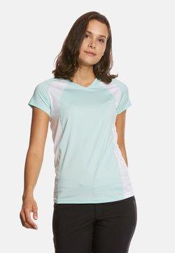 Jeff Green - ELLA - T-Shirt print - mint/white