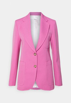 Victoria Beckham - SINGLE BREASTED FITTED JACKET - Żakiet - bright pink