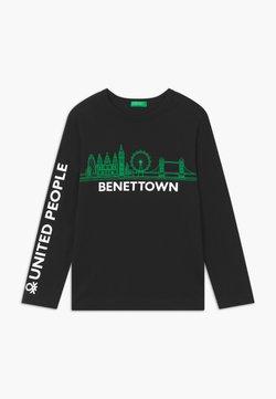 Benetton - EUROPE BOY - Långärmad tröja - black