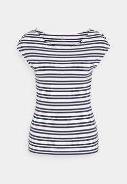 GAP Petite - BATEAU - T-Shirt print - navy