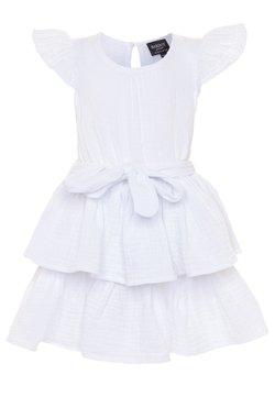 Bardot Junior - EDNA RUFFLE DRESS - Cocktailkleid/festliches Kleid - ivory