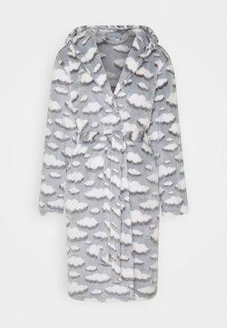 Loungeable - CLOUD SHERPA HOODED ROBE - Badjas - grey