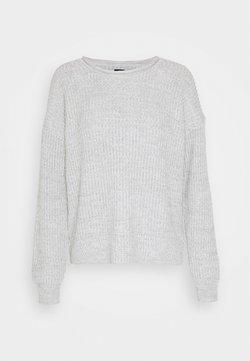 GAP - ROLLNECK SHAKER  - Strickpullover - light grey