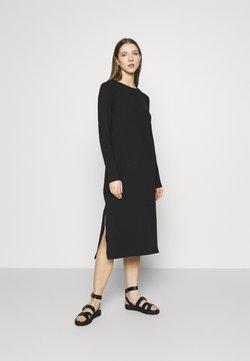 Monki - ISA DRESS - Jersey dress - black