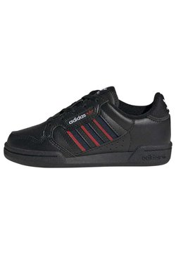 adidas Originals - CONTINENTAL 80 STRIPES SCHUH - Matalavartiset tennarit - black