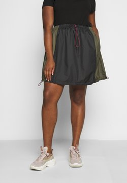 Nike Sportswear - SKIRT - A-Linien-Rock - black/twilight marsh