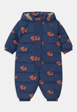 TINYCOTTONS - FOXES PADDED ONE-PIECE - Skipak - light navy/sienna