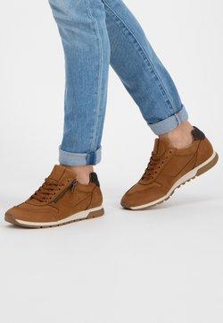 NoGRZ - E.BLORE - Sneakers laag - cognac