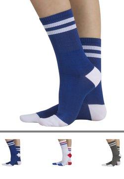 Calzitaly - 3 PACK  - Socken - blue