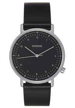 Komono - LEWIS - Montre - black/silver-coloured
