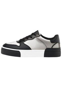 Bershka - MIT LENTIKULARDRUCK  - Sneaker low - black