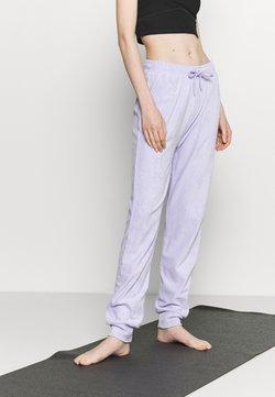 NU-IN - HIGH WAIST TOWELLING - Jogginghose - lilac