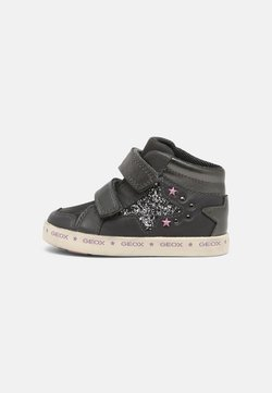 Geox - KILWI GIRL - Baskets montantes - anthracite