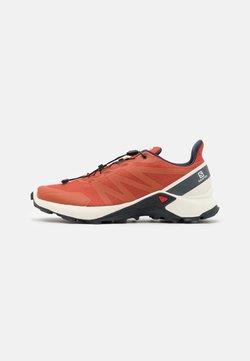 Salomon - SUPERCROSS - Zapatillas de trail running - burnt brick/vanila/india ink