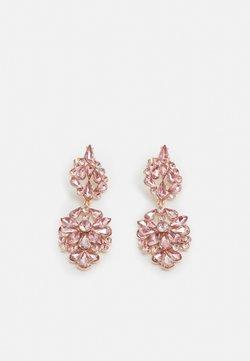 Pieces - PCNAMLA EARRINGS  - Earrings - gold-coloured/misty rose