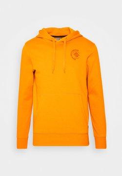 TOM TAILOR DENIM - HOODY CHEST  - Sweater - goldfish orange