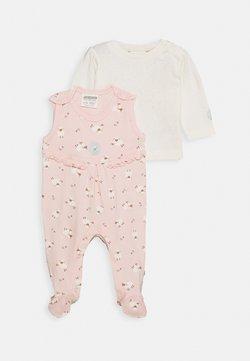 Jacky Baby - STRAMPLER FLUFFY & LOVELY SET - Combinaison - off-white