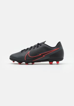 Nike Performance - MERCURIAL JR VAPOR 13 CLUB FG/MG UNISEX - Scarpe da calcetto con tacchetti - black/dark smoke grey