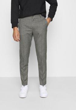 Calvin Klein Tailored - MOULINE GRID TAPERED PANTS - Broek - khaki