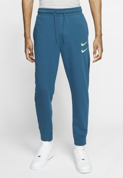 Nike Sportswear - M NSW PANT FT - Jogginghose - blue force/barely volt
