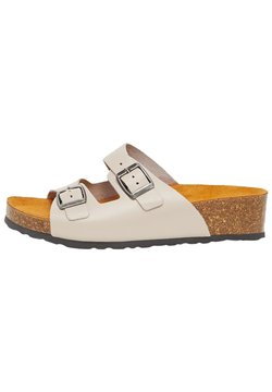 Bianco - BIABETTY WEDGE BUCKLE - Hausschuh - brown