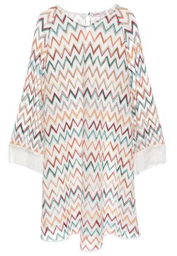 Missoni Kids - DRESS - Freizeitkleid - white