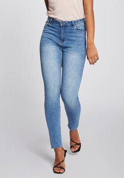 Morgan - Jeans Slim Fit - bleached denim