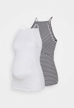 Anna Field MAMA - 2 PACK - Top - white/black