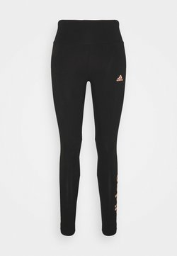 adidas Performance - LIN LEG - Tights - black/ambient blush