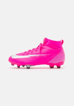 Nike Performance - JR MERCURIAL 7 ACADEMY MG MBAPPÉ - Scarpe da calcetto con tacchetti - pink blast/white/black