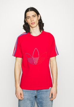 adidas Originals - FTO ADICOLOR PRIMEBLUE - T-Shirt print - scarlet