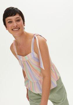Oliver Bonas - TIE STRAP CAMI  - Bluse - pink