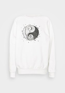 Topshop - MYSTICAL MOON  - Sweatshirt - off-white