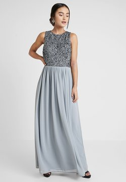 Lace & Beads Petite - PICASSO - Ballkleid - slate blue
