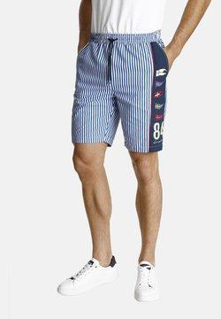 Jan Vanderstorm - GANSI - Shorts - blue/white
