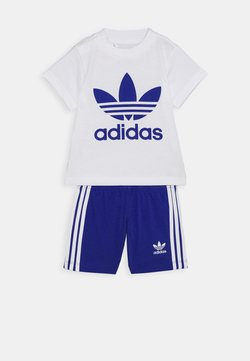 adidas Originals - SET UNISEX - Short - white/royblu