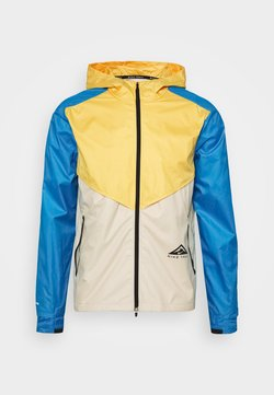 Nike Performance - TRAIL WINDRUNNER  - Sports jacket - solar flare/beach/laser blue/reflective silver