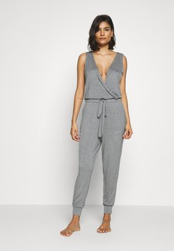 Marks & Spencer London - HANGING LOUNGE JUMPSUIT - Pyjama - charcoal
